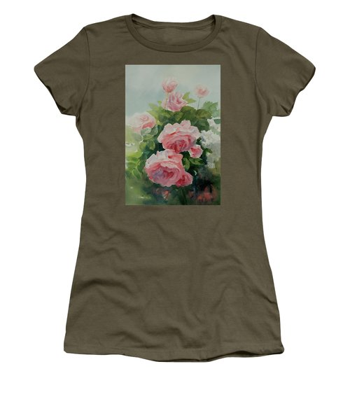 Flower 11 Women's T-Shirt (Athletic Fit)