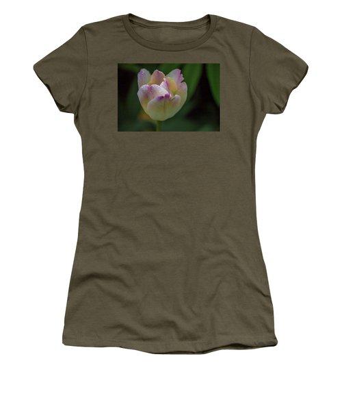 Flower 654853 Women's T-Shirt (Athletic Fit)