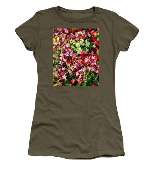 Flower Garden 1 Women's T-Shirt (Athletic Fit)