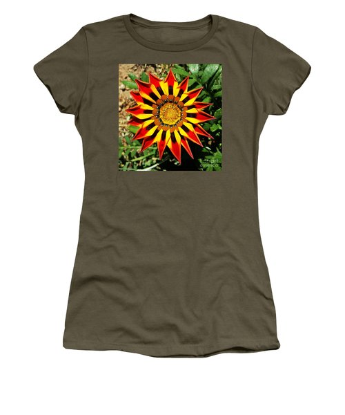 Flower -  Made In Nature Women's T-Shirt (Junior Cut) by Jasna Gopic