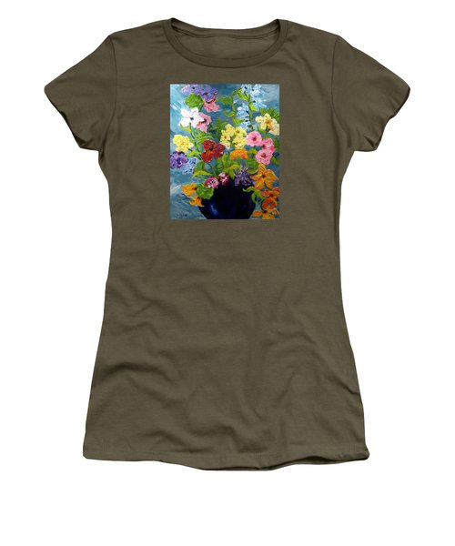 Flower Power Women's T-Shirt (Junior Cut)