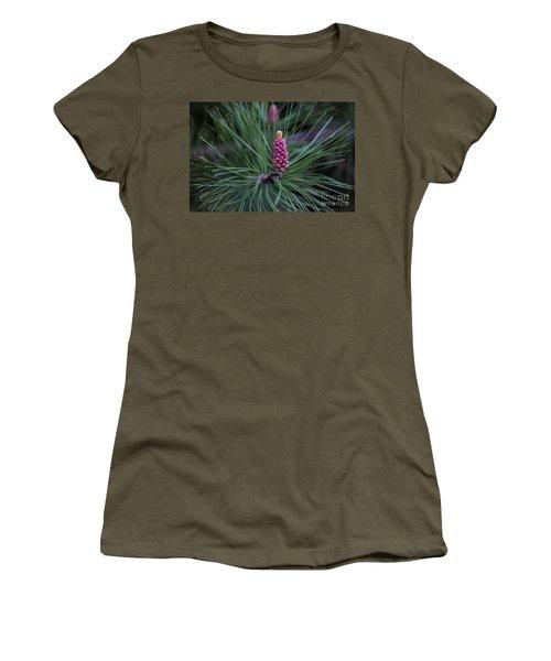 Flowering Pine Cone Women's T-Shirt