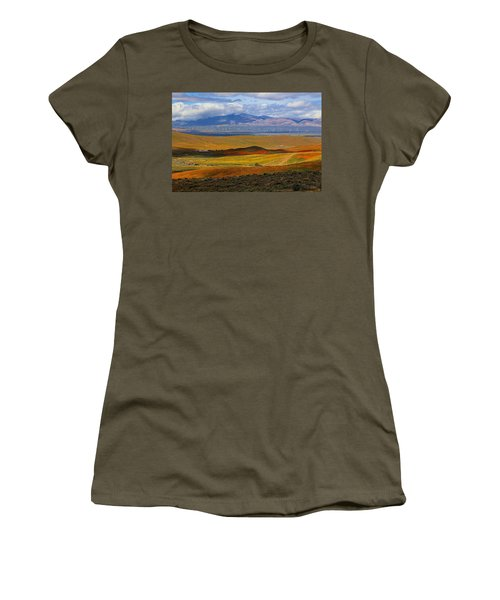Flowers Carpet Women's T-Shirt (Junior Cut) by Viktor Savchenko