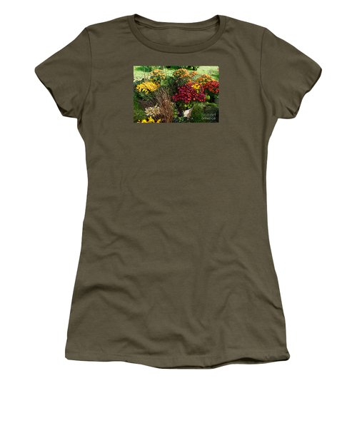 Flowers For Sale Women's T-Shirt (Junior Cut) by David Blank