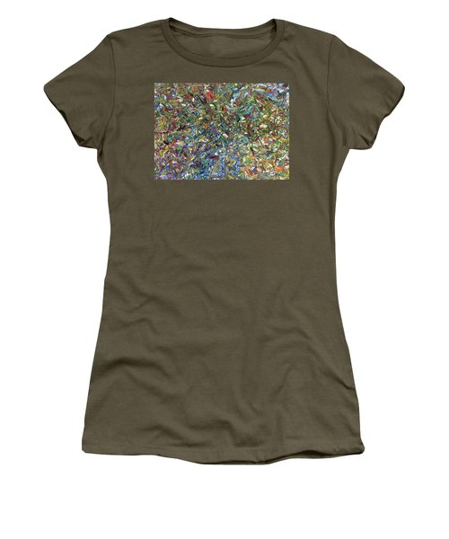 Flowers In A Blue Vase Women's T-Shirt