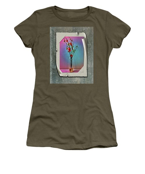 Flowers In A Vase Women's T-Shirt