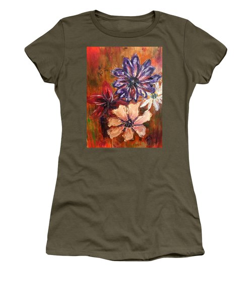 Flowers In The Spring Women's T-Shirt (Athletic Fit)