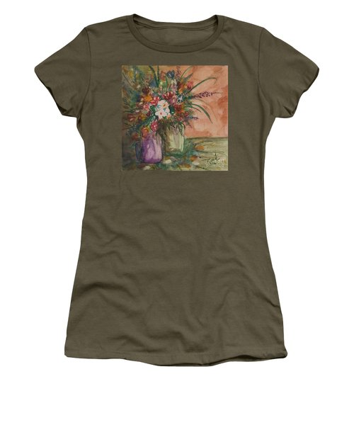 Flowers In Vases 2 Women's T-Shirt