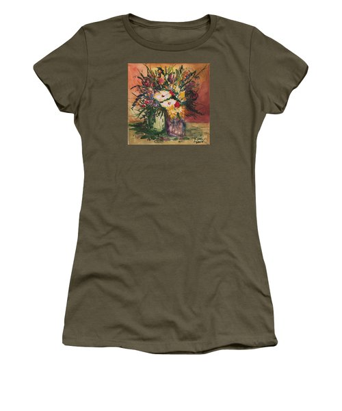 Flowers In Vases Women's T-Shirt
