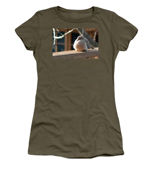 Women's T-Shirt (Junior Cut) featuring the photograph Fluffy by Laurel Best