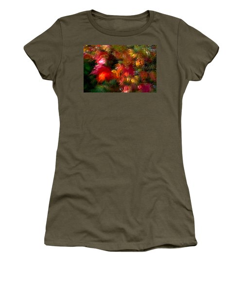 Women's T-Shirt featuring the photograph Flury by Doug Gibbons
