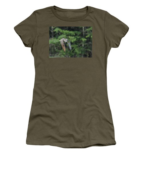 Flying Low... Women's T-Shirt (Athletic Fit)