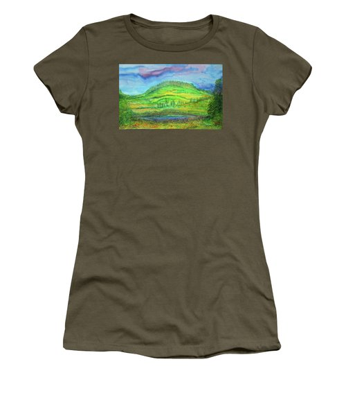 Flying Solo Women's T-Shirt (Junior Cut) by Susan D Moody