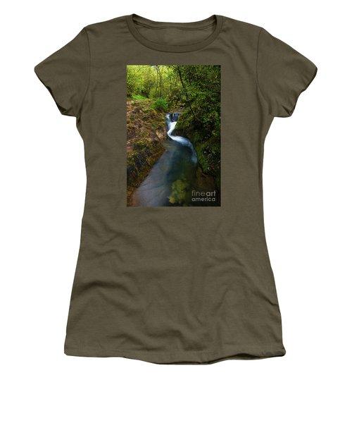 Women's T-Shirt (Junior Cut) featuring the photograph Follow It I by Yuri Santin
