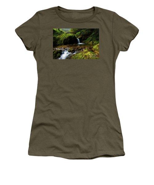 Women's T-Shirt (Junior Cut) featuring the photograph Follow It II by Yuri Santin