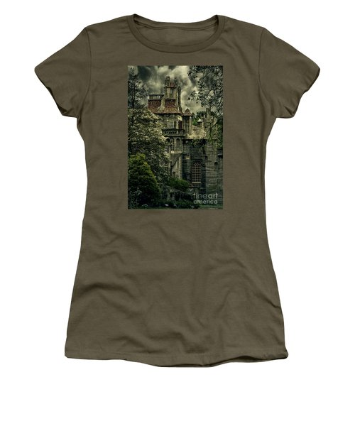 Fonthill With Storm Clouds Women's T-Shirt