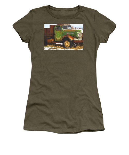 Ford Farm Truck Painterly Impressions Women's T-Shirt