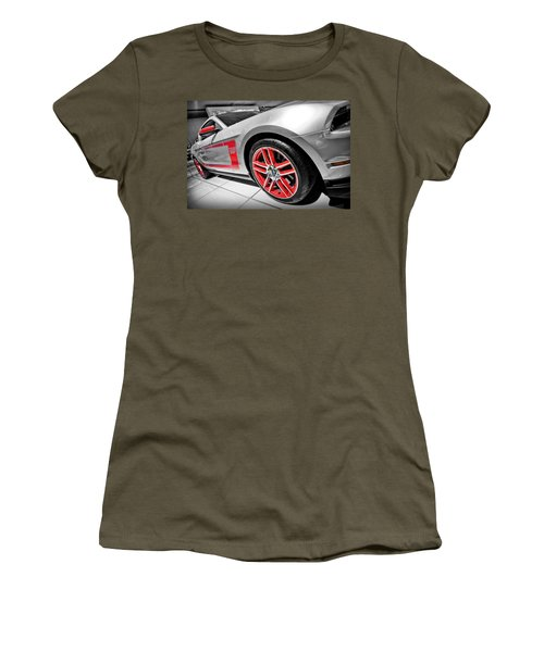 Ford Mustang Boss 302 Women's T-Shirt (Athletic Fit)