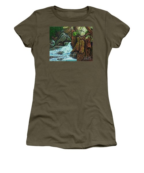 Forest Brook IIi Women's T-Shirt (Athletic Fit)