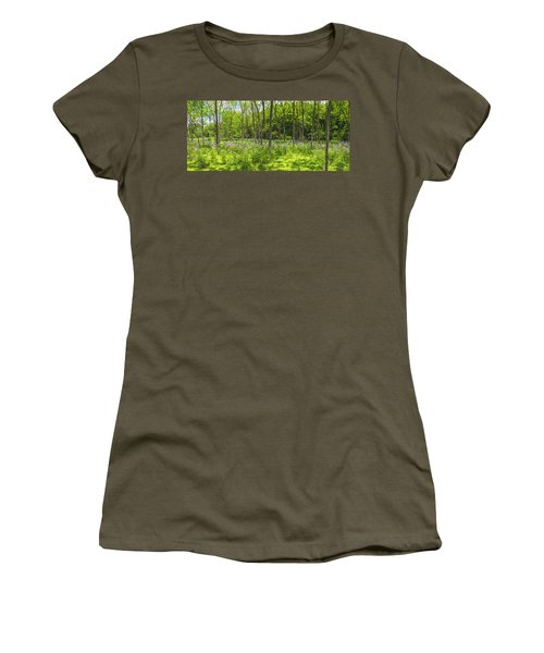 Forest Floor Dame's Rocket Women's T-Shirt (Athletic Fit)