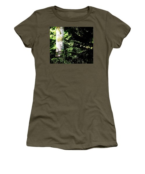 Forest Glow Women's T-Shirt (Athletic Fit)