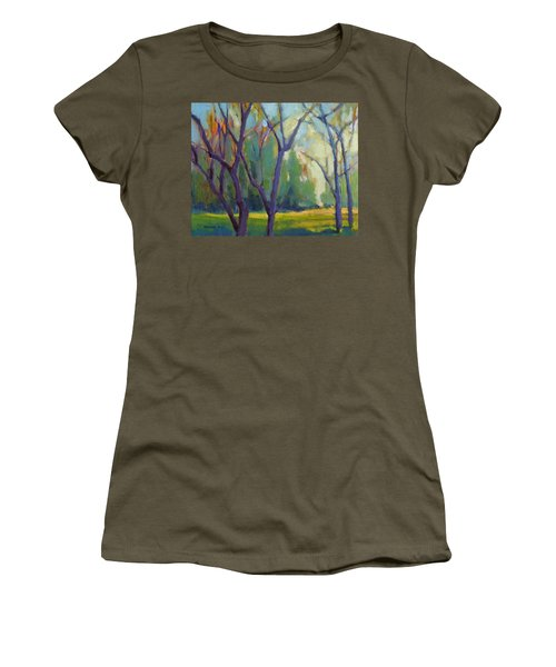 Forest In Spring Women's T-Shirt