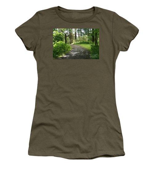 Forest Path. Women's T-Shirt