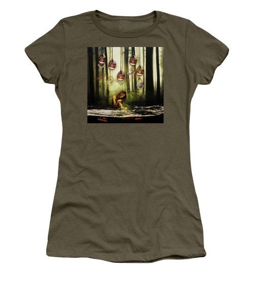 Forest Rain Fantasy Women's T-Shirt