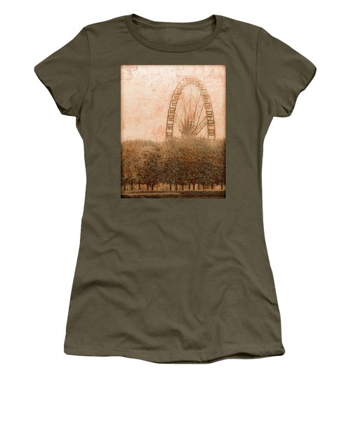 Paris, France - Forest Wheel Women's T-Shirt