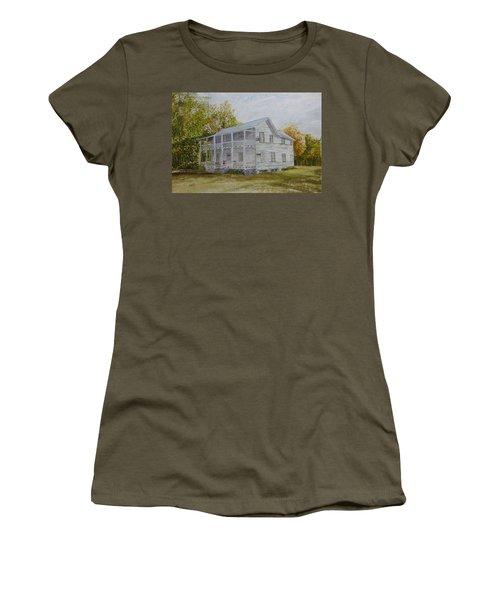Forgotten By Time Women's T-Shirt (Junior Cut) by Joel Deutsch
