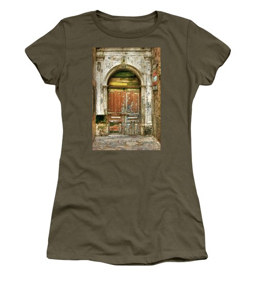 Forgotten Doorway Women's T-Shirt (Athletic Fit)