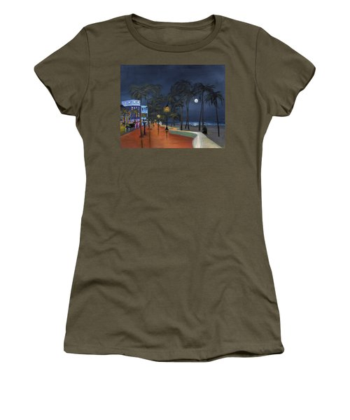 Fort Lauderdale Beach At Night Women's T-Shirt