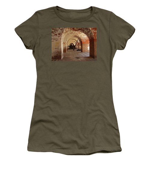Fort Pulaski II Women's T-Shirt (Junior Cut) by Flavia Westerwelle