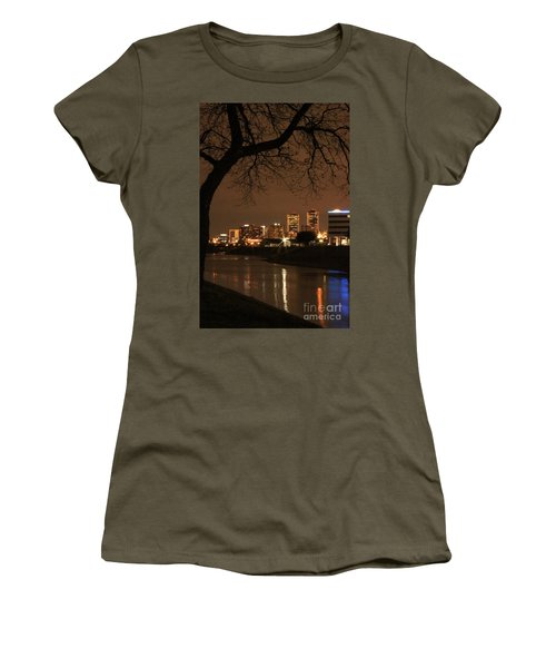 Fort Worth Skyline Women's T-Shirt (Athletic Fit)
