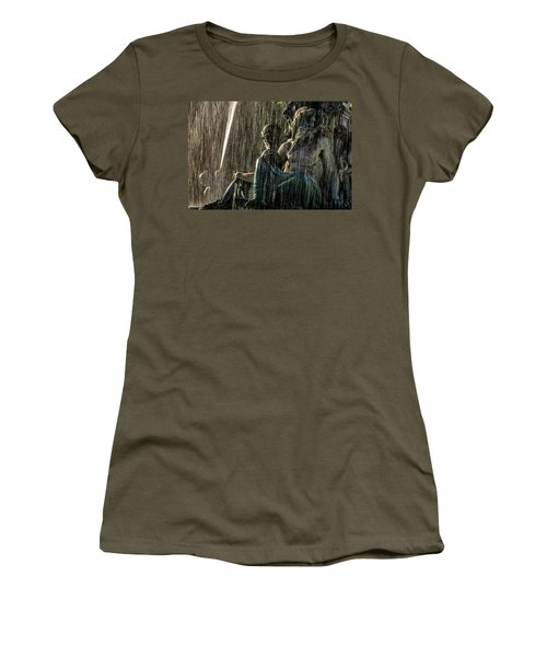 Fountain At Rossio Square Women's T-Shirt