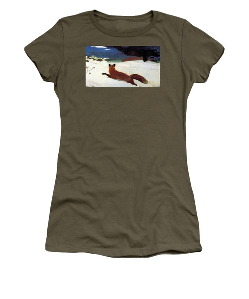 Fox Hunt Women's T-Shirt (Athletic Fit)
