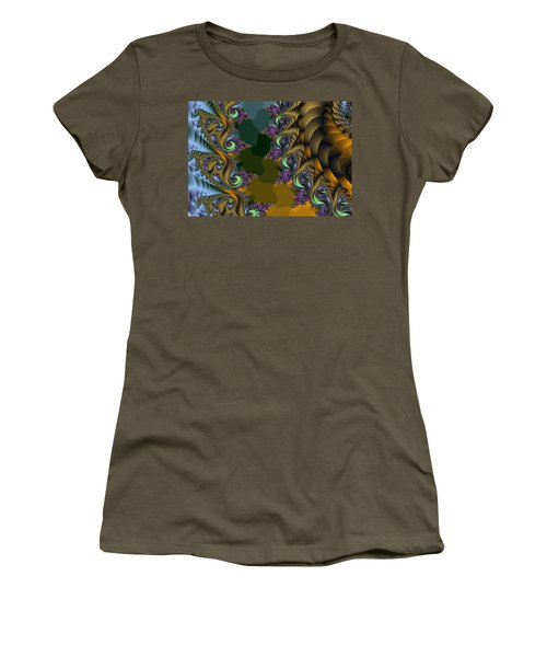 Fractals83002 Women's T-Shirt (Athletic Fit)