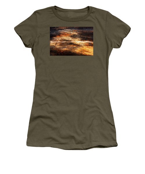 Women's T-Shirt (Junior Cut) featuring the photograph Fractured by Ryan Manuel