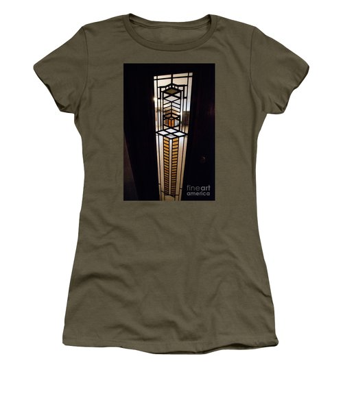 Frederick Robie House - 3 Women's T-Shirt (Junior Cut) by David Bearden