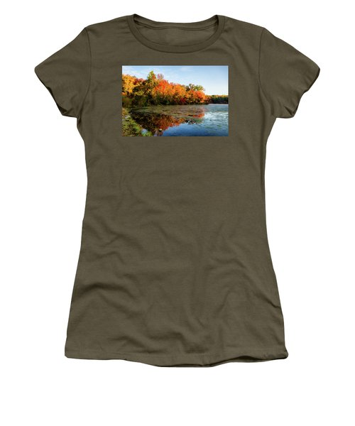 French Creek 15-025 Women's T-Shirt (Junior Cut) by Scott McAllister