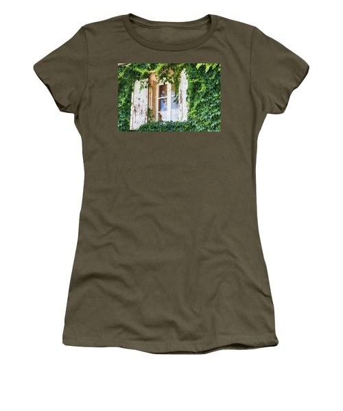 French Window In Provence Women's T-Shirt