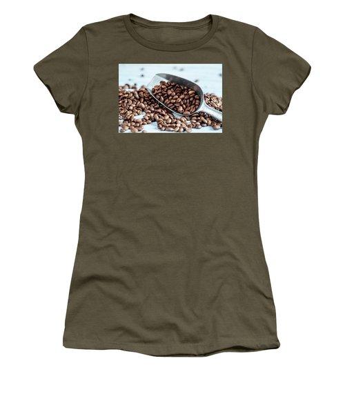 Fresh Roasted Coffe Beans Women's T-Shirt