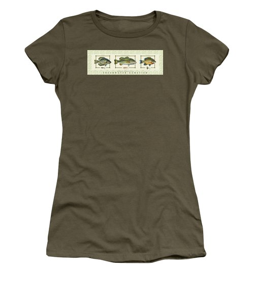 Freshwater Gamefish Women's T-Shirt (Athletic Fit)