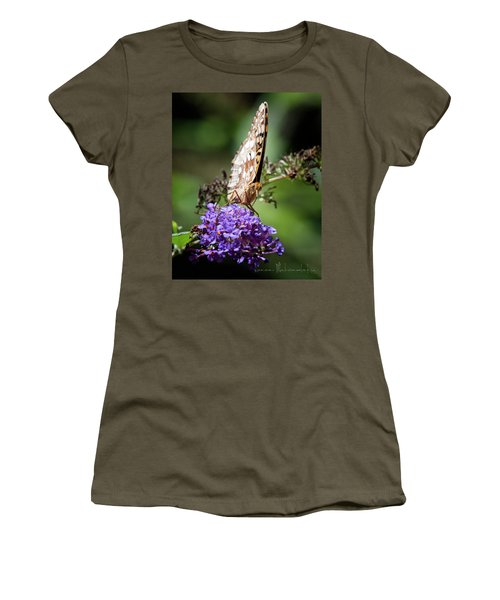 Fritillary Women's T-Shirt (Athletic Fit)