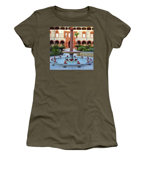 Frog Fountain Women's T-Shirt