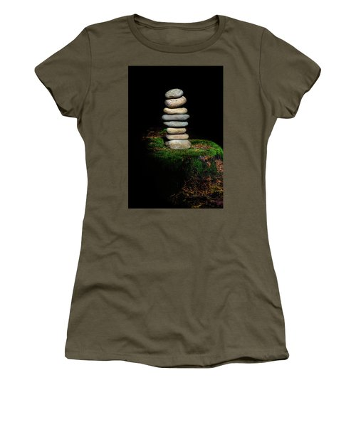 Women's T-Shirt (Junior Cut) featuring the photograph From The Shadows by Marco Oliveira