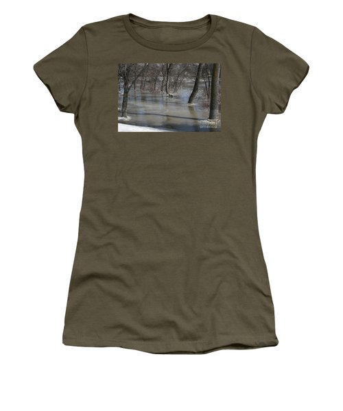 Frozen Floodwaters Women's T-Shirt