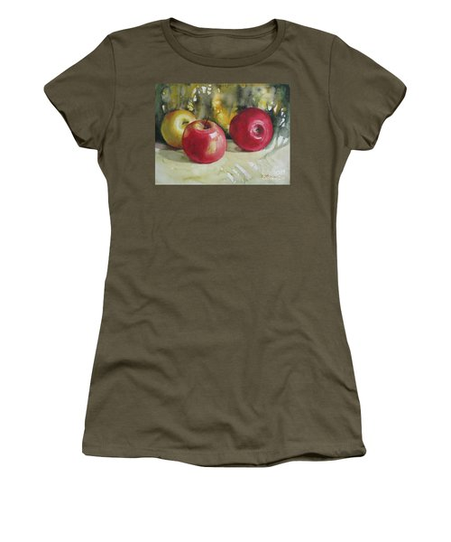 Fruits Of The Earth Women's T-Shirt (Junior Cut) by Elena Oleniuc