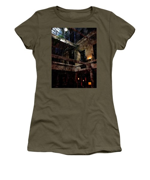 Full Moon At Tremont Toujouse Bar Women's T-Shirt (Junior Cut) by Karl Reid