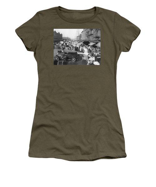 Fulton Fish Market Women's T-Shirt